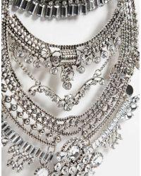 ALDO - Metallic Greenacres Necklace - Lyst