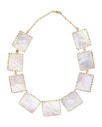 Lana Jewelry - White Costa Blanca Mother-Of-Pearl Necklace - Lyst