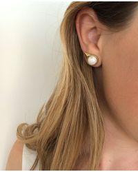 Jenny Bird | White Aurora Studs | Lyst