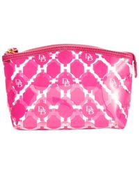 Dooney & Bourke | Pink Sanibel Small Cosmetic Case | Lyst