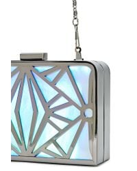 Nasty Gal   Metallic Space Out Clutch   Lyst