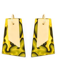Wouters & Hendrix | Green 'playfully Precious' Earrings | Lyst