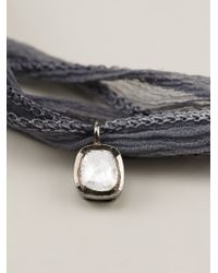 Christian Koban - Gray 'slice' Diamond Necklace - Lyst