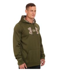 Under Armour | Green Storm Caliber Hoodie Tall for Men | Lyst