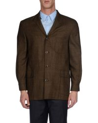 Burberry - Natural Blazer for Men - Lyst