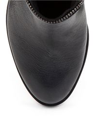 BCBGeneration | Black Crush Leather Boots | Lyst