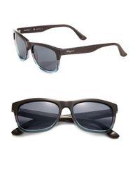 Ferragamo | Blue 55mm Wayfarer Sunglasses for Men | Lyst