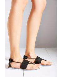 Dolce Vita | Black Kalliope Elastic Sandal | Lyst