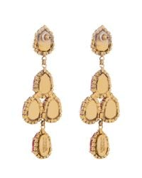 Erickson Beamon - Red Duchess Of Fabulous Earrings - Lyst