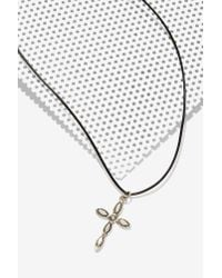 Vanessa Mooney | Black Night Craft Double Cross Choker | Lyst