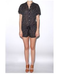 MASSCOB - Multicolor Floral Shorts Jumper - Lyst