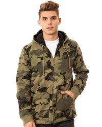 Obey - Green The Grind Jacket for Men - Lyst