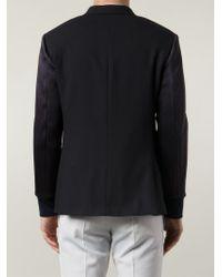 Neil Barrett - Blue 'ma-1' Blazer for Men - Lyst
