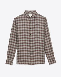 Billy Reid | Brown John T Shirt for Men | Lyst