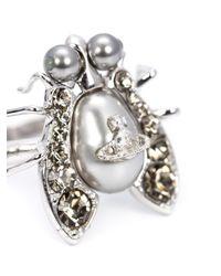 Vivienne Westwood | Gray 'gillian' Ring | Lyst