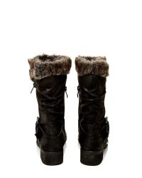 Moda In Pelle | Black Folina Low Casual Short Boots | Lyst