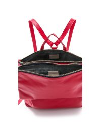 Clare V. - Red Maison Agnes Backpack - Campari Axon - Lyst