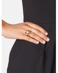 Eddie Borgo - Metallic Rose Bud Ring - Lyst