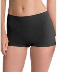 Spanx | Black Shaping Boyshort Panties | Lyst