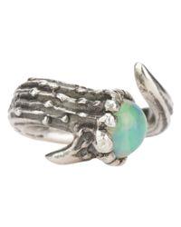 Aaron Jah Stone | Metallic Dear Deer Opal Ring | Lyst