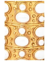 Sylvia Toledano | Metallic Large Pearl Byzance Cuff | Lyst