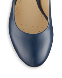 Geox - Blue Marie Claire Leather Pumps - Lyst