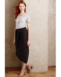 Saturday/sunday - Gray Nona Wrap Maxi Skirt - Lyst
