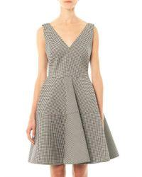 N°21 | Black Gingham Dress | Lyst