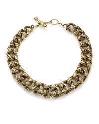 Vaubel | Metallic Chunky Chain Necklace | Lyst