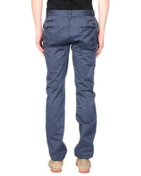 Scotch & Soda | Gray Casual Trouser for Men | Lyst