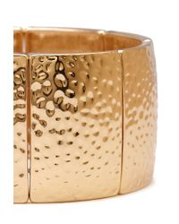 Forever 21 | Metallic Hammered Stretch Bracelet | Lyst