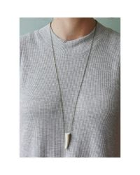 Spectrum | White Antler Necklace | Lyst
