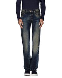 PRPS - Blue Denim Trousers for Men - Lyst