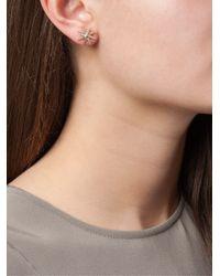 Zoe & Morgan - Metallic 'Spike Burst' Earrings - Lyst