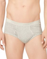 Calvin Klein | Gray Cotton Classics Briefs, Pack Of 4 for Men | Lyst