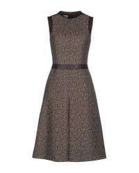 Michael Kors | Brown Knee-length Dress | Lyst