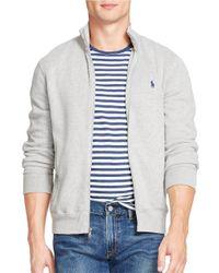 Polo Ralph Lauren | Gray Performance French-rib Jacket for Men | Lyst