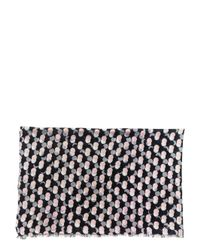 kate spade new york - Black Steal The Spotlight Oblong Scarf - Lyst