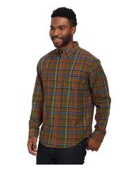 Woolrich | Brown Timberline Long Sleeve Shirt for Men | Lyst