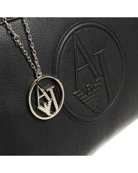 Armani Jeans | Black Handbag Woman Giorgio Armani | Lyst