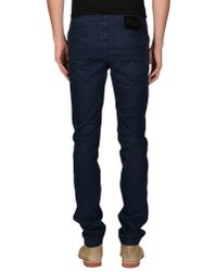 Exte - Blue Casual Trouser for Men - Lyst