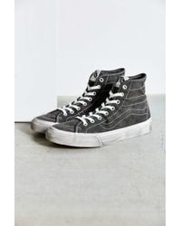 Vans | Black Sk8-hi Overwashed Decon Sneaker | Lyst
