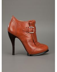 McQ Alexander McQueen | Brown Shoe Boot | Lyst