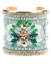 Bijoux De Famille | Green 'manhattan Beach Club' Cuff | Lyst
