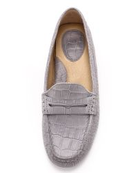 Frye | Gray Rebecca Penny Loafers - Grey | Lyst