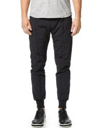 Steven Alan | Black Alpha Insulated Pants for Men | Lyst
