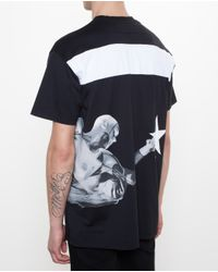 Givenchy - Black Oversized Basketball T-Shirt for Men - Lyst
