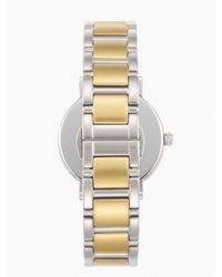 Kate Spade | Metallic Gramercy Dot Watch | Lyst