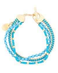 Henri Bendel | Blue St Tropez Delicate Bracelet | Lyst