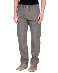 Guess - Natural Casual Trouser for Men - Lyst
